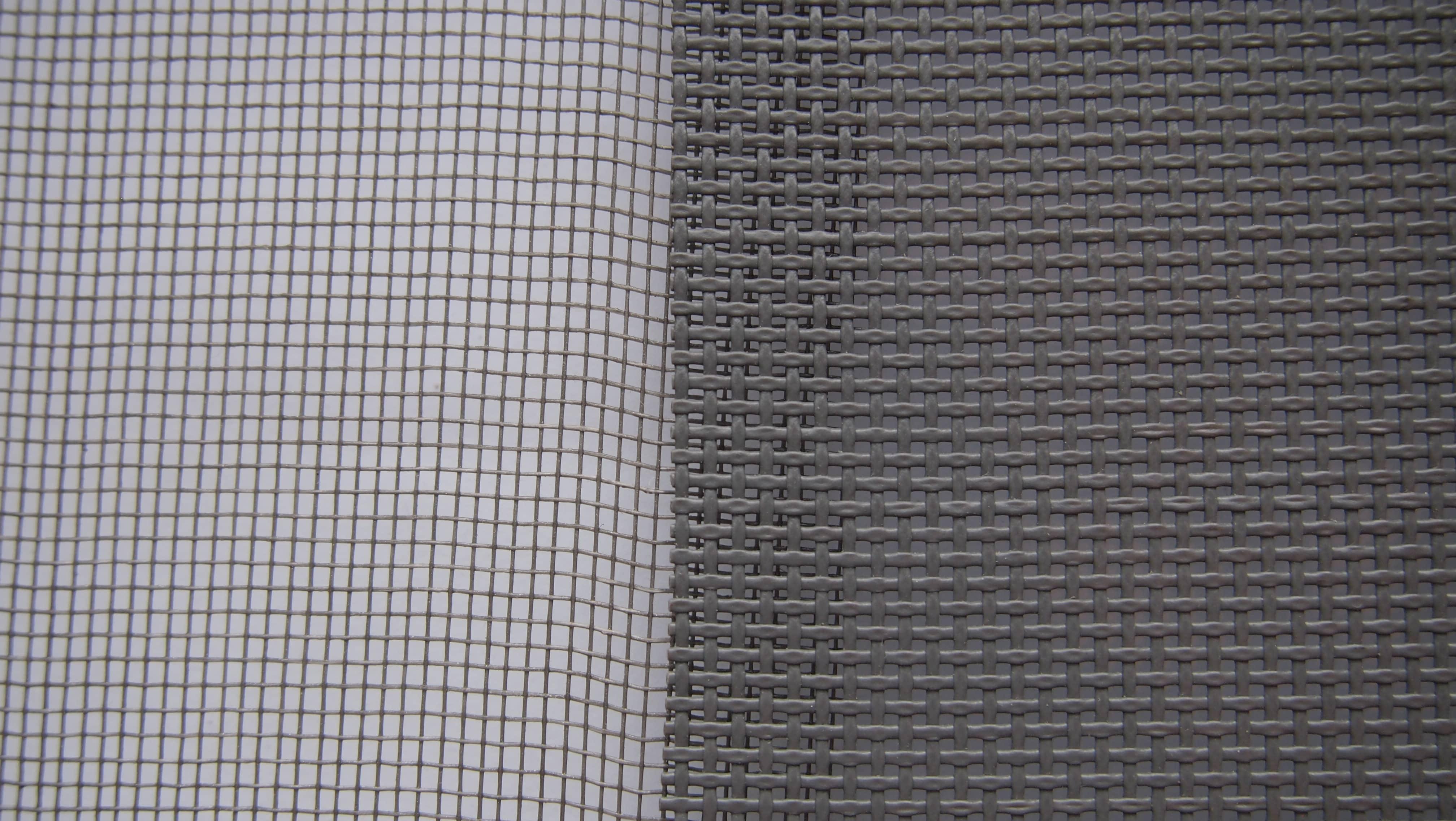 Сетка в сравнении обычная стекловолокно и антипыль